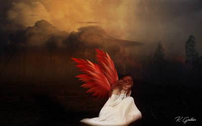 Sad Angel by netsrik24