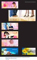 Cashier Backwall Sticker - 2 by adheeslev