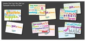 Semi Pop Art Wise Card by adheeslev