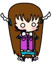Tsuki Chibi by JenniKittyMuffin