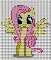 Fluttershy Pattern by Jackiekie