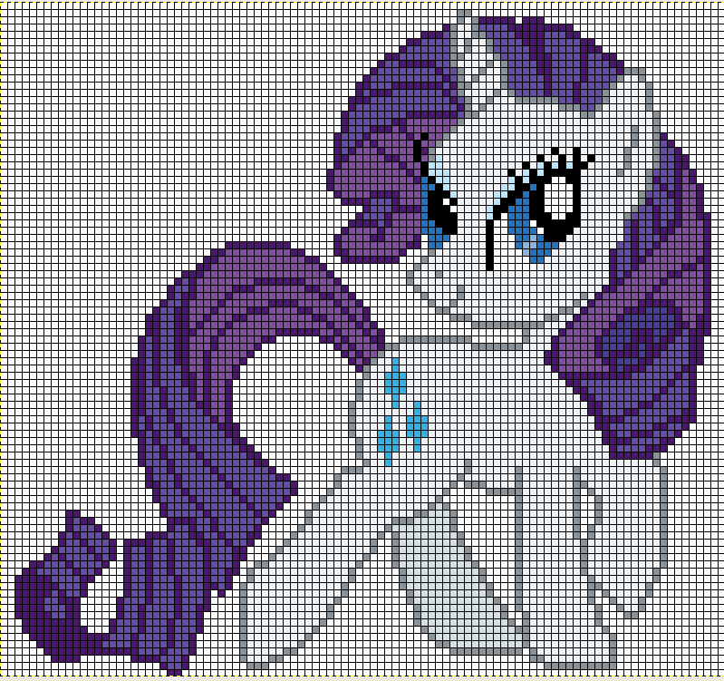 the gallery for gt fluttershy minecraft pixel art template