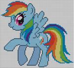 Rainbow Dash Pattern