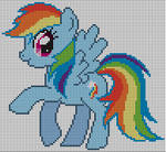 Rainbow Dash Pattern
