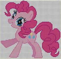 Pinkie Pie c-s Pattern by Jackiekie