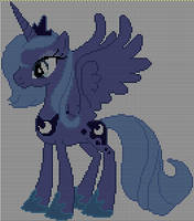 Luna cross stitch pattern by Jackiekie