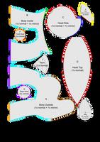 Pony Plushie Pattern v2.0 by Jackiekie