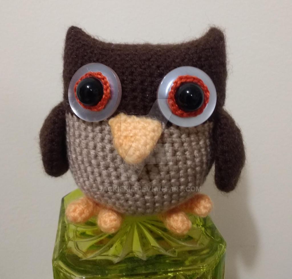 Handmade crochet Owl doll Amigurumi Home Decor Ornament owl ... | 978x1024