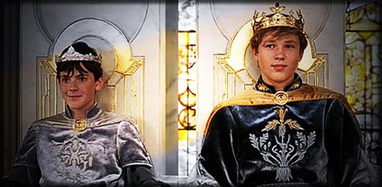 Kings of Narnia by Lovienna