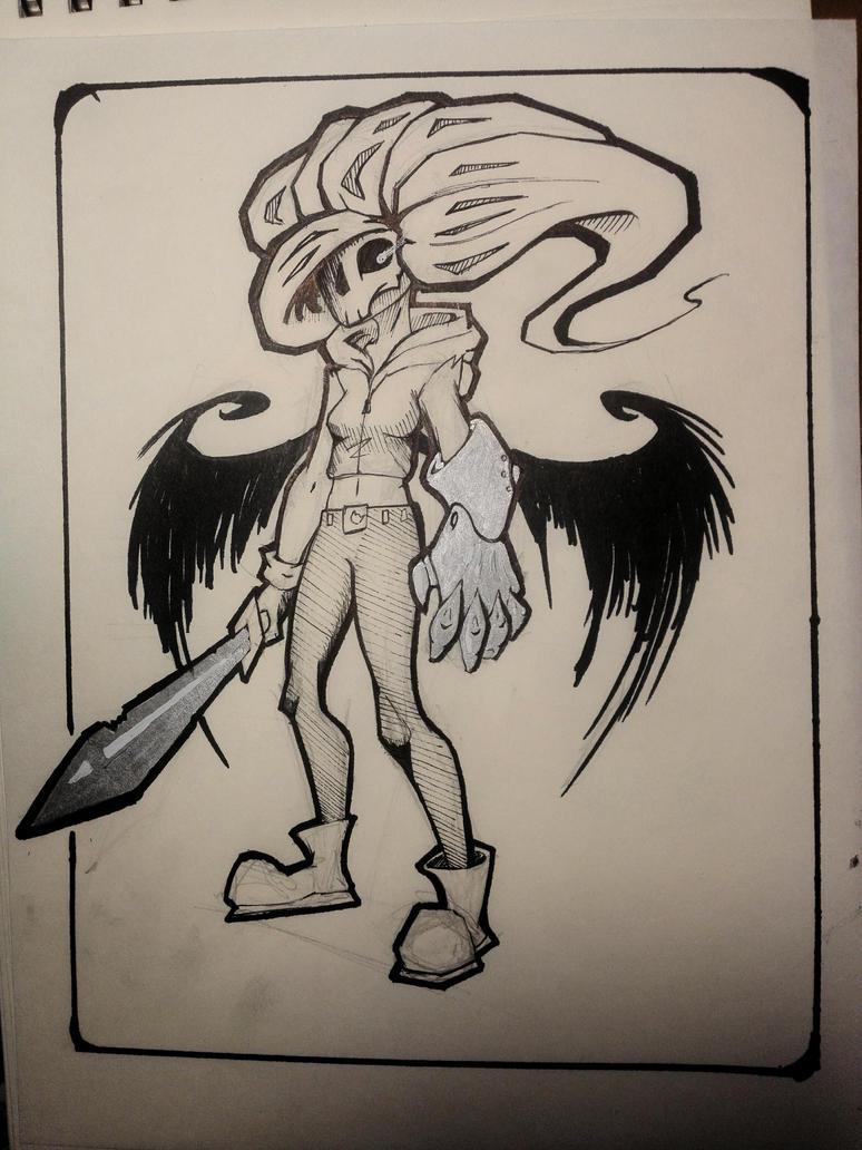 Harpy by Hafox