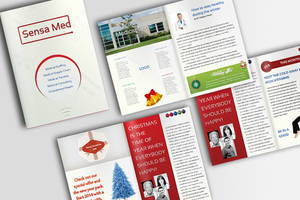 Medical and Health Christmas Brochure (PSD) by IndoorTemplates