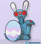 Easter 2V-R8 - Clone Wars Style by SkyeHammer
