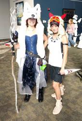 Princess Mononoke Cosplay at Nekocon by Shlii