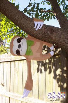 Handmade Sloth Doll