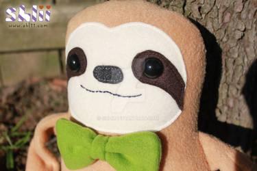 Dapper Sloth closeup