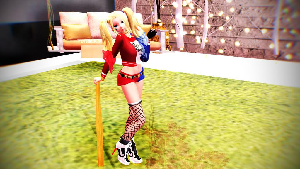 957ced165fdf MMD Harley Quinn DL  (Finale) by Kasumisatao on DeviantArt