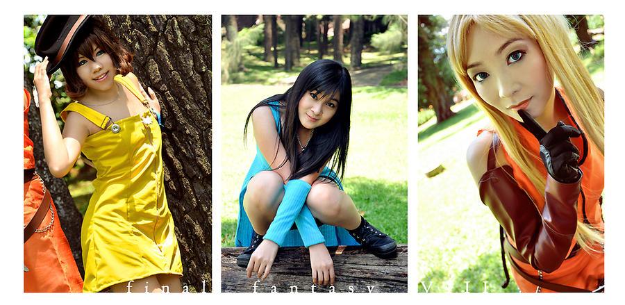 FFVIII: The Girls by ki-ri-ka