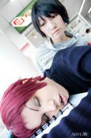 BAKUMAN: Eiji x Iwase by ki-ri-ka