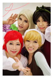 Disney: Princesses Selca by ki-ri-ka