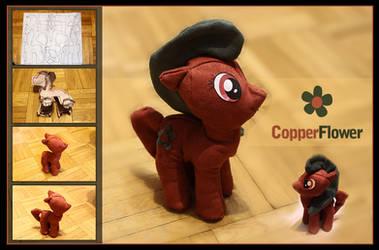 Pony Plushie - CopperFlower