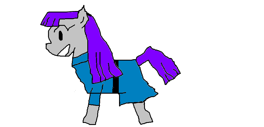 my first drawing of maud pie by LuisTowers