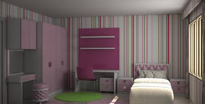 Girl Bedroom by simbahswan
