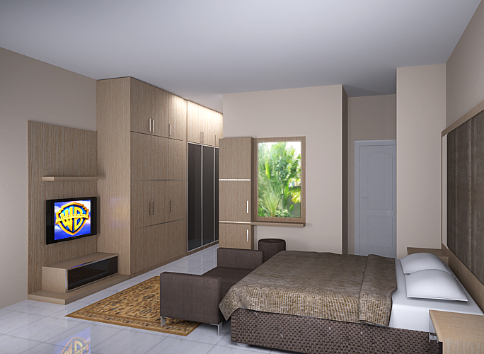 Master bedroom minimalist 2nd view by simbahswan on deviantart for Minimalist master bedroom ideas