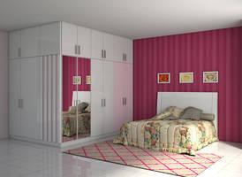 teen bedroom by simbahswan