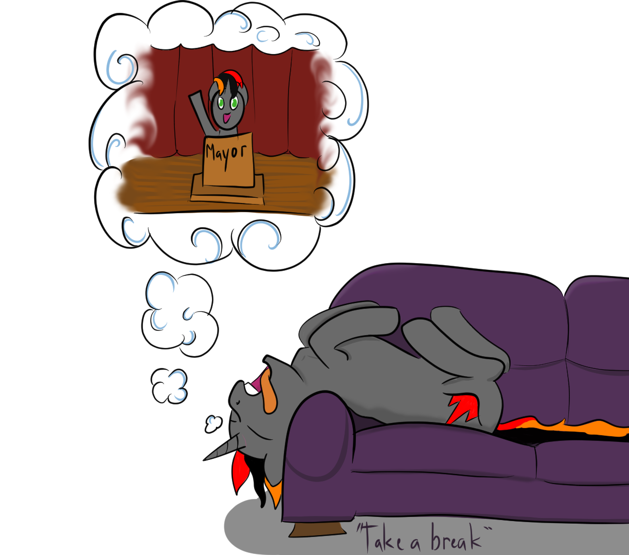 Take a break from your dreams