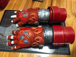 X Gloves Vongola Gear version (re-build 2018)
