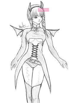 Devil Clair Sketch