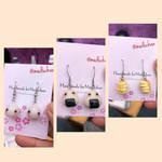 Handmade Kawaii food earrings