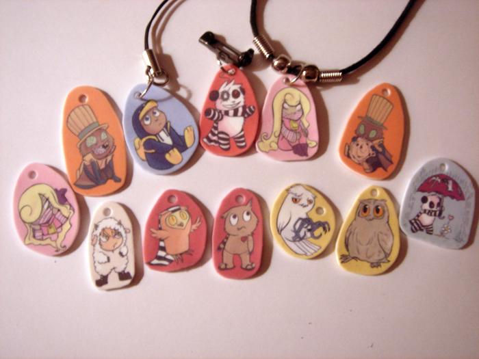MoCCA 2011 charms