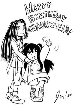 Birthday waaaave for Chaos