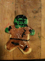 The Frankenstein Cookie Monster by Rikiwulf