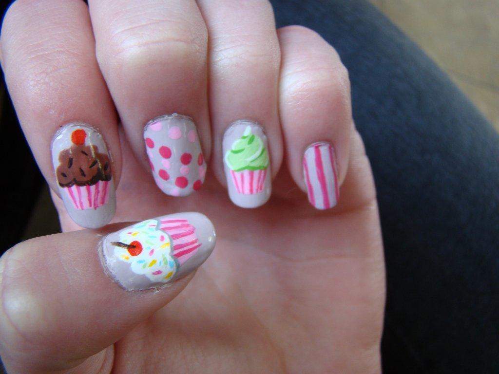 cupcakes nail art - top reviewed nail gel