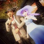 MMD CeVIO Yuzuki Yukari and Ginsaki Yamato -SIP- by GalletasPrincipe