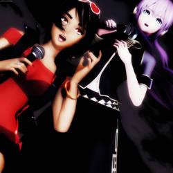MMD Clara and Luka Vocaloid -Nos Volveremos A Ver- by GalletasPrincipe