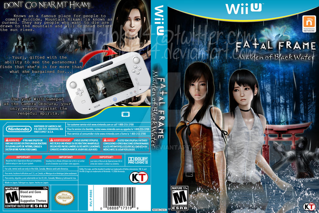 Fatal Frame 5 Game Cover (Fan Made) by hrtbkr14 on DeviantArt