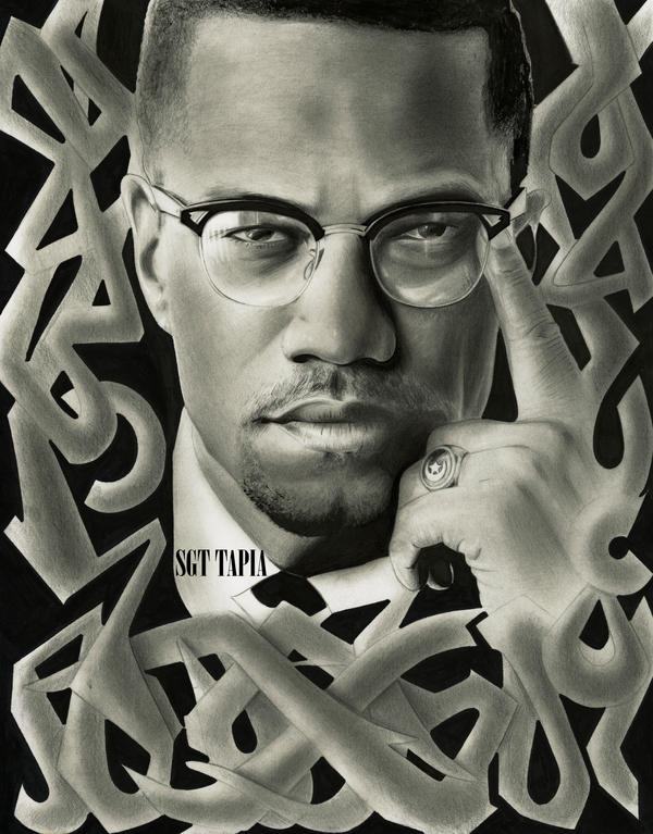 gallery for malcolm x wallpaper