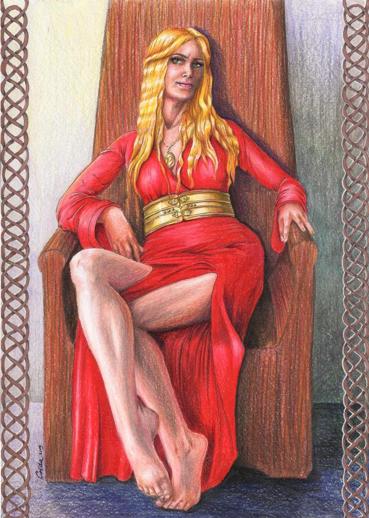 -com- Cersei Lannister by Crida