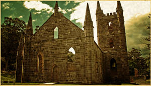 Port Arthur's church