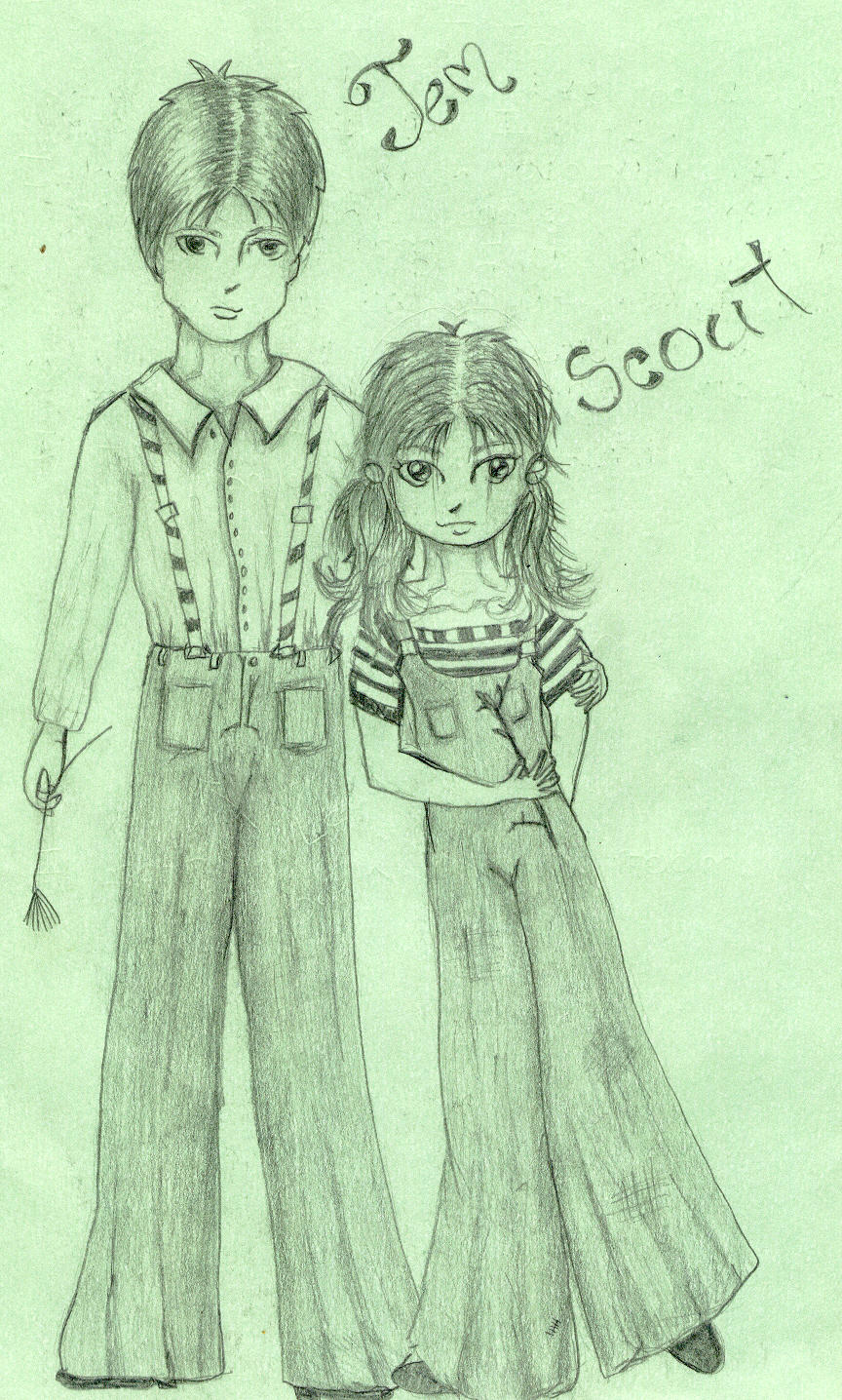 the change of jem and scout To kill a mockingbird chapters 4-7 summary - to kill a mockingbird by harper lee summary and analysis toggle navigation topics math algebra slowly, boo becomes less of a mythical neighborhood monster and more of a kindly recluse gradually, jem and scout seem to realize that nothing is.