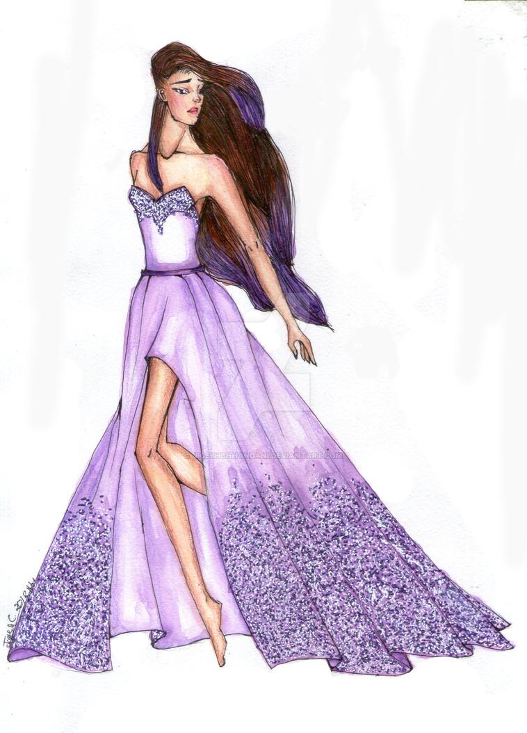 Fashion Illustration - SPIRIT by JigeshChhangani