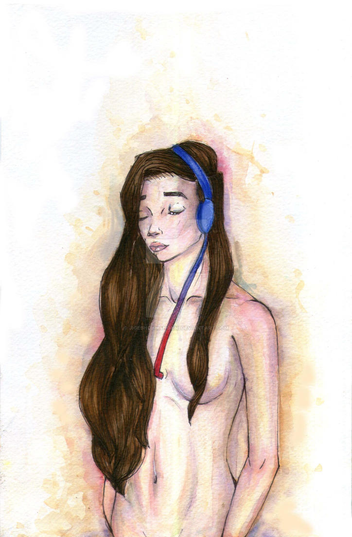 Listen to the voice of Your Heart - Watercolor by JigeshChhangani