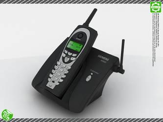 Siemens Telephone - 3D - by Secap