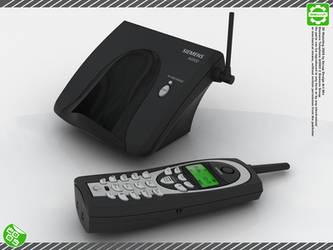 Siemens Telephone 2 - 3D - by Secap