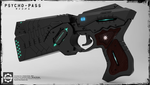 Dominator Gun 3D - Psycho Pass - 1 by Secap