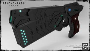Dominator Gun 3D - Psycho Pass - 2