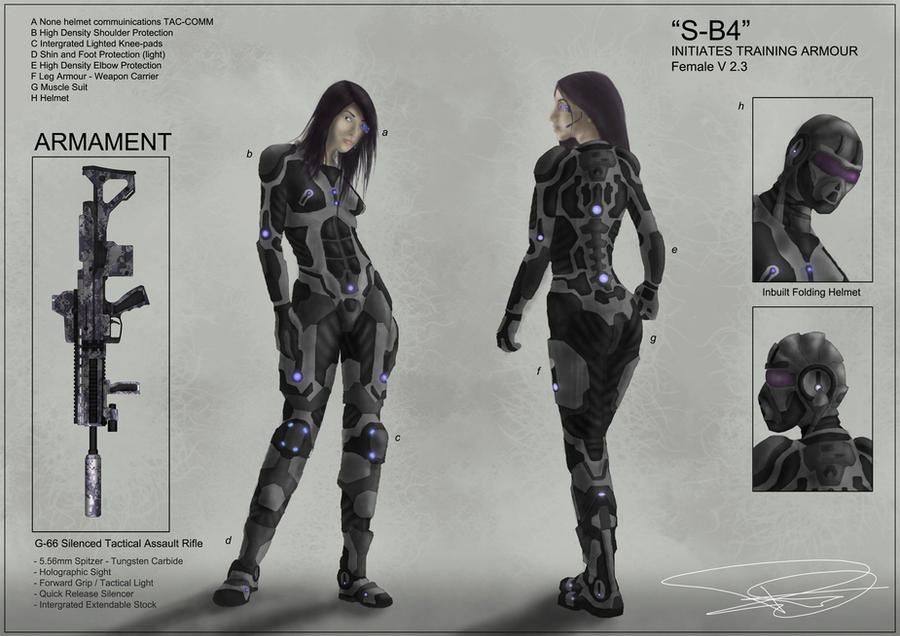Armour concept by dd2005